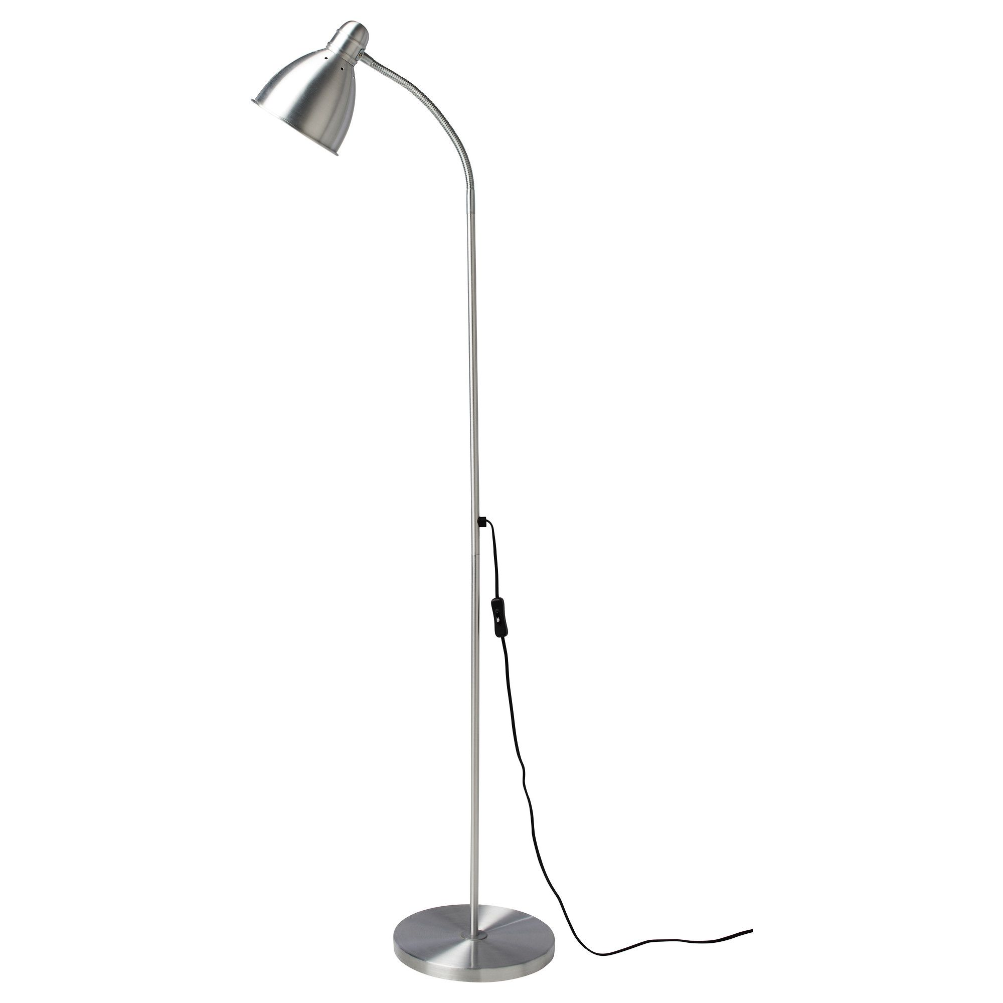LERSTA Floor/reading Lamp, Aluminum Part 88