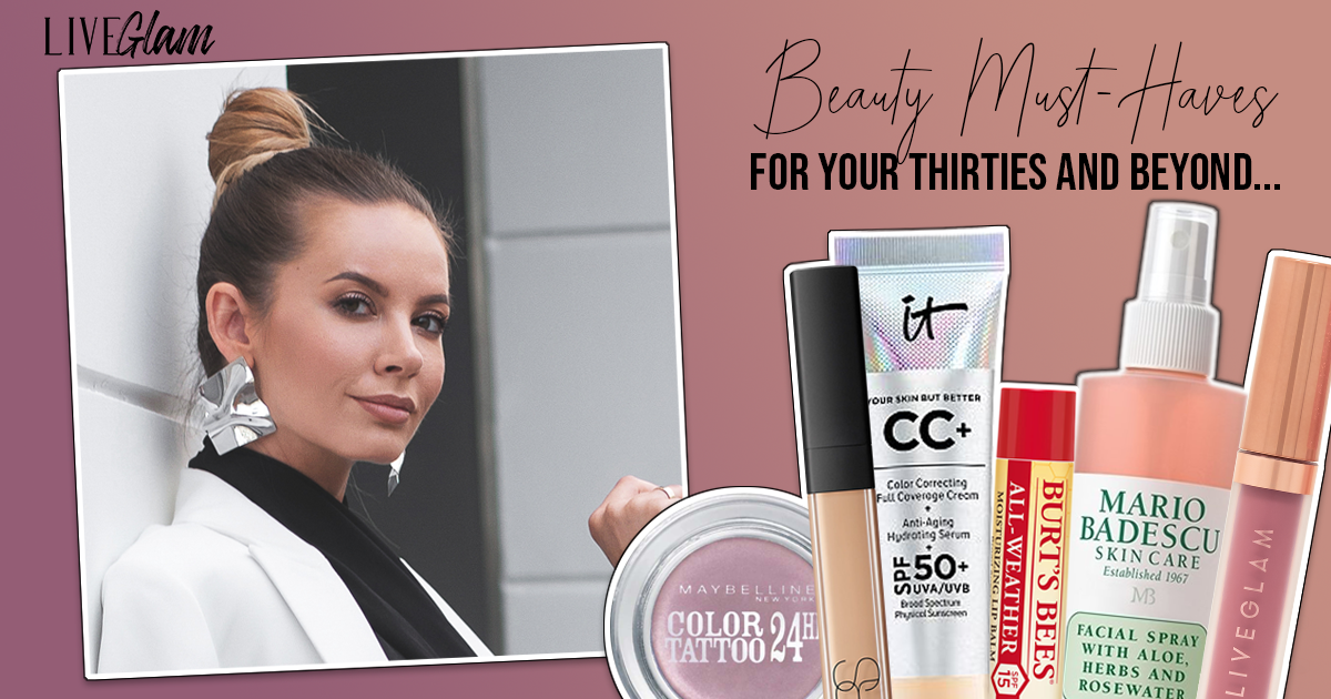 Beauty Must Haves For Your 30 S And Beyond Beauty Must Haves Beauty Staples Beauty