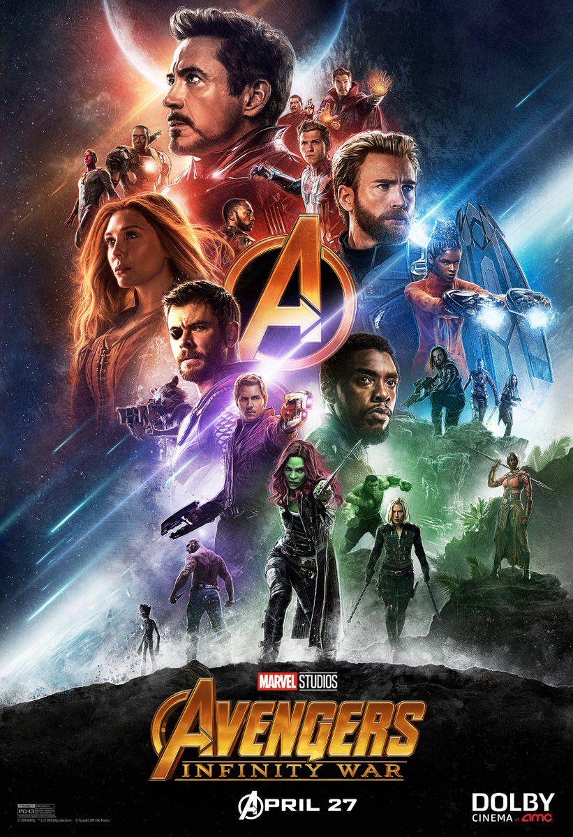 A Pretty New Poster For Avengers Infinity War Marvel Vingadores Marvel Avengers