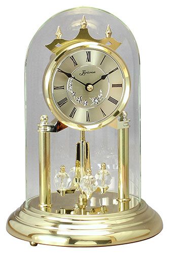 German Anniversary Clock With Westminster Chime Clocks