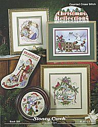 Book 350 Christmas Reflections | Cross Stitch | Christmas ...