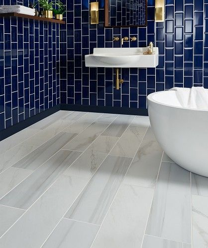 Legato Matt Tile Tiletuesday Bathroom Tiles Bathroomdesign Interiordesign Interiorstyling Luxury Blue Bathroom Tile Marble Tile Bathroom Small Bathroom