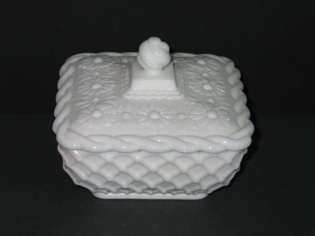 Vintage Imperial Glass Milk Glass Covered Candy Dish . Starting at $6