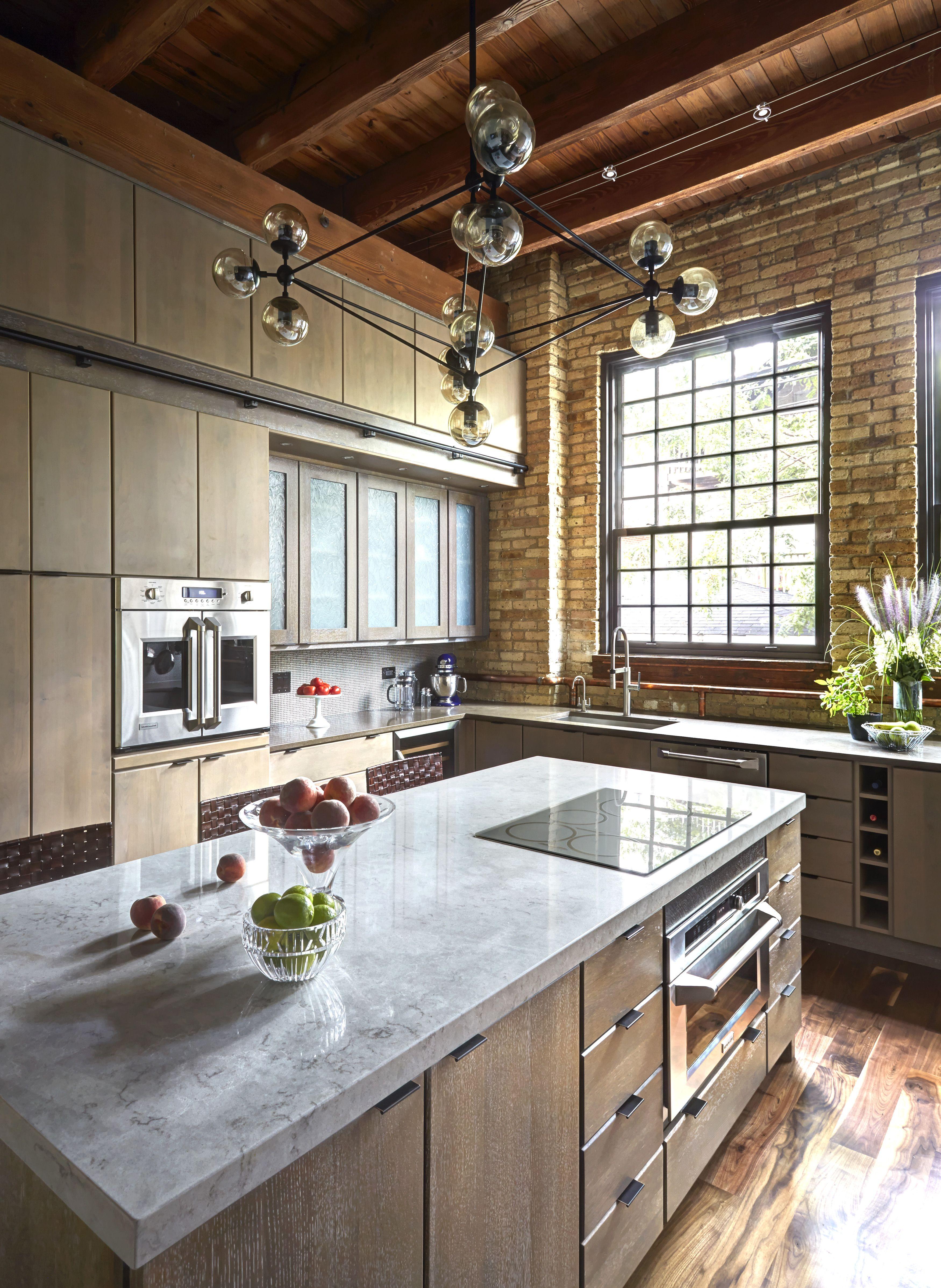 Interior Designed Kitchens Industrial Kitchen In Chicago Designedfred M Alsen Of Fma