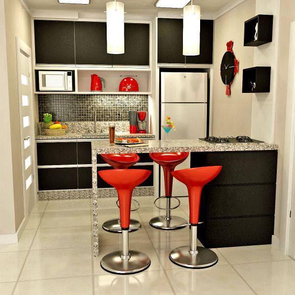 Pin de Floren Zeta en casa Pinterest Cocinas, Cocina pequeña y - barras de cocina