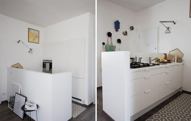Open space: come dividere cucina e soggiorno | Cucine | Pinterest ...