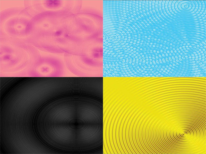 Nice Ripples & Rings Background Textures. 4 Ripples Background textures. Each one is 4000 x 2833 - about A4 @ 300Dpi. The black one's pretty cool - a bit like an old vinyl record.  #blue #gold #pink #rings #ripples #waves Check more at http://psdfinder.com/free-psd/ripples-rings-background-textures
