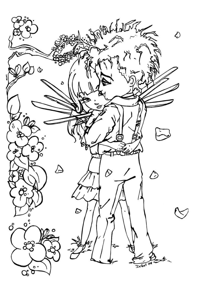 U'R like an angel to me... by JadeDragonne.deviantart.com