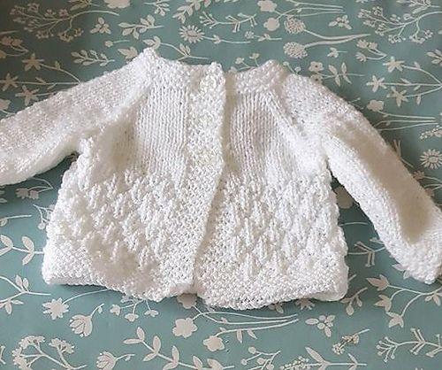 0f907bfa93d6 Ravelry  Milk   Sugar Baby Cardigan pattern by marianna mel ...