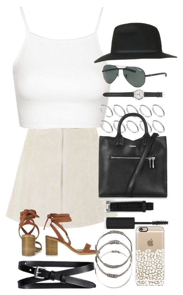 """""""'Forever Summer' Topshop X Polyvore 