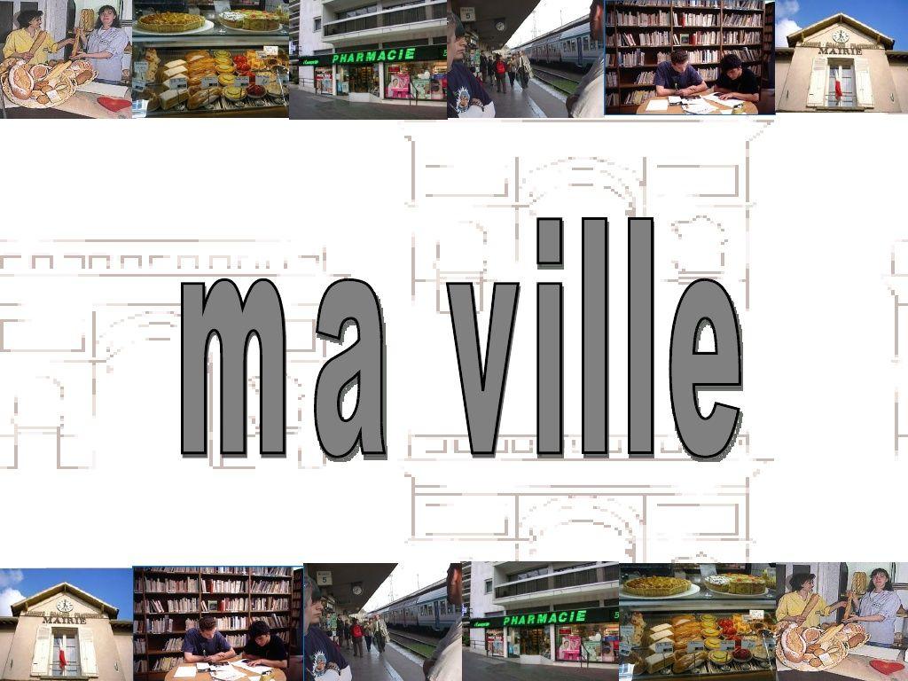 La Ville Un Peu De Vocabulaire By Iesdragobil Via