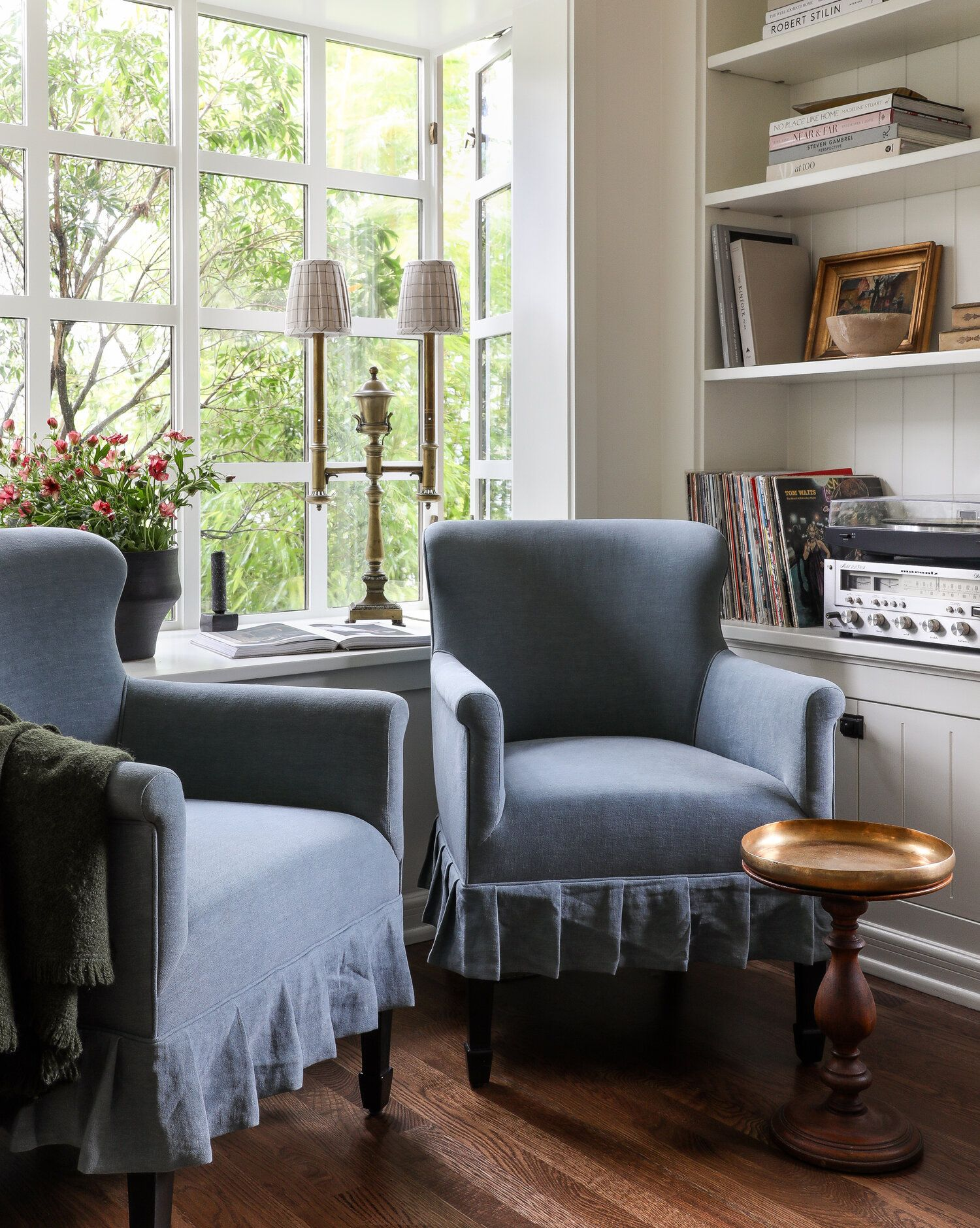 Home Tour A Charming Seattle Carriage House That Proves Bigger Isn T Always Better The Grit And Polish Small House Makeover Living Room Chairs Seattle Home Living room and chairs