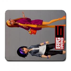 BIG HERO 6 MOVIE TOMAGO & HONEY LEMON LARGE MOUSEPAD $8.99