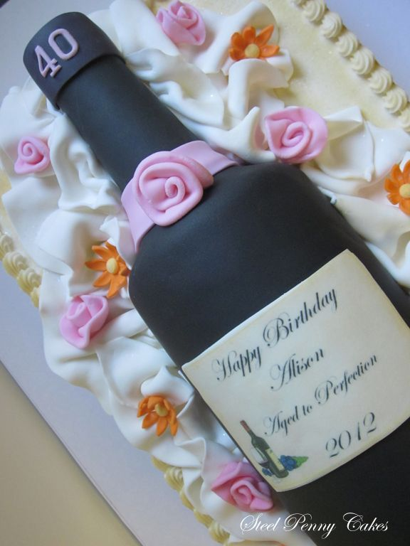 Perfect Cake For Wine Lover Steel Penny Cakes Duvino Wine Www