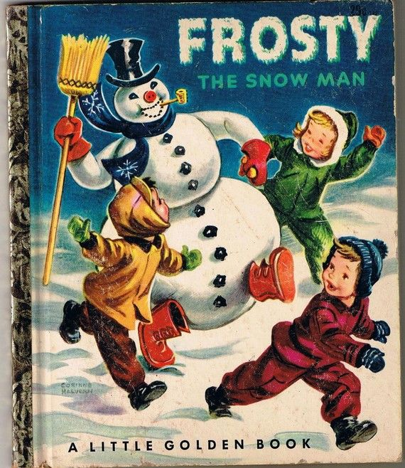 Vintage Frosty The Snowman Childrens Book by TheIDconnection, $10.00