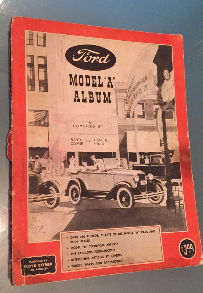 vtg ford motor company car model a automobile manual photos vtg ads rh pinterest com Car ManualsOnline Product Factory Service Manuals
