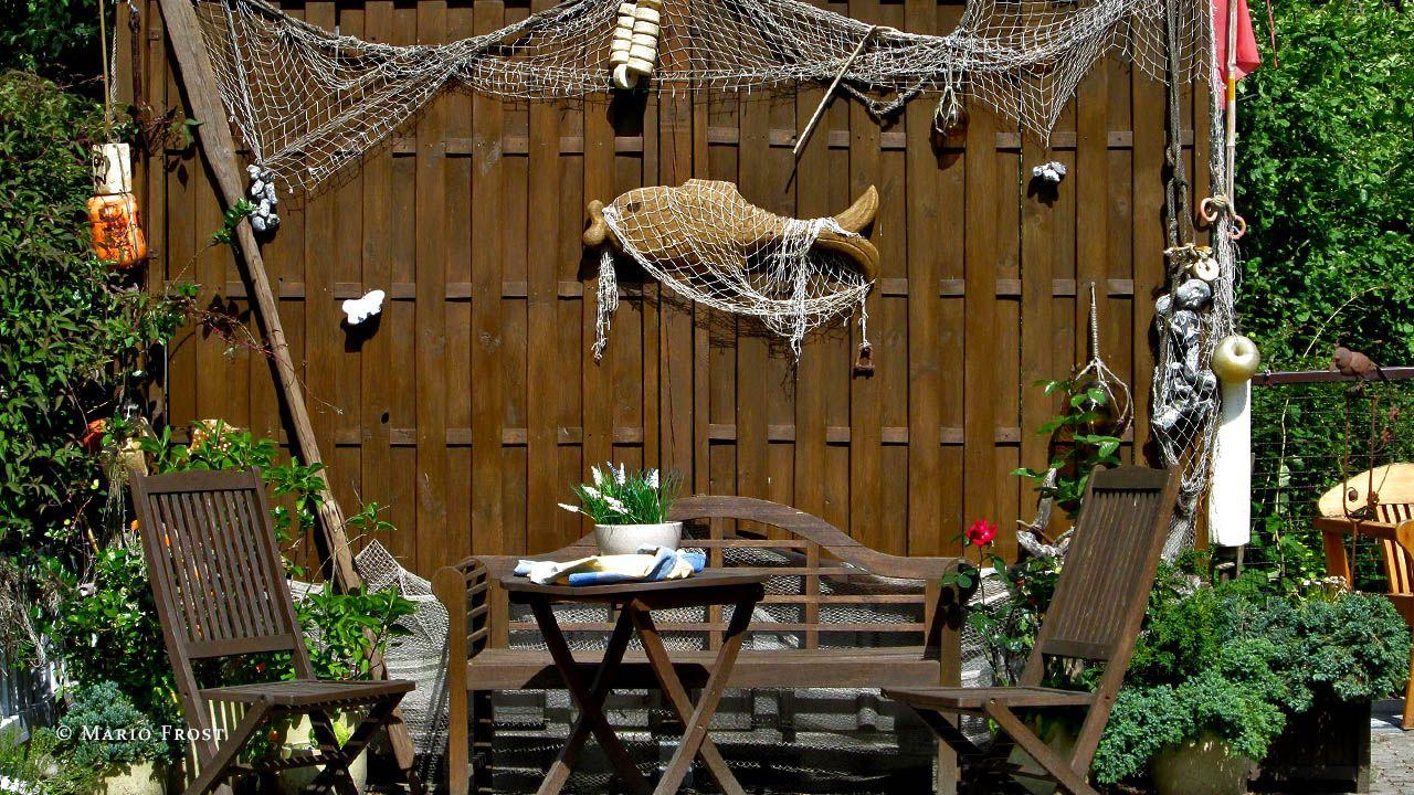 Maritime Gartengestaltung maritime deko für den garten ostsee deko der rü insel