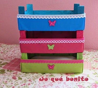 Cajas de fresas decoradas con telas cajas de fruta - Cajas de fruta decoradas ...