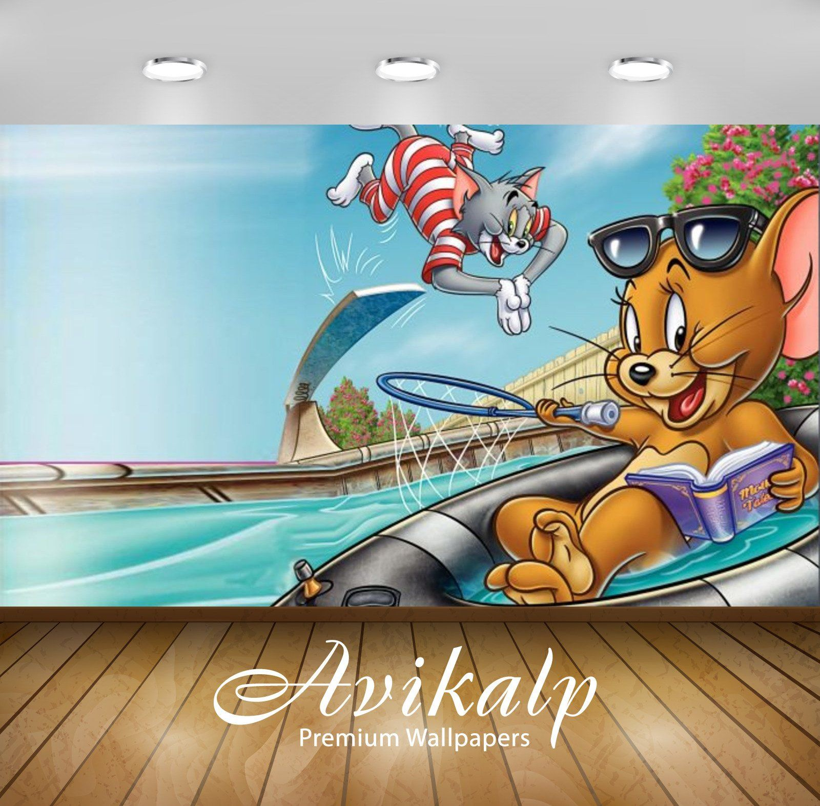 Avikalp Exclusive Awi2262 Tom and Jerry Fur Flying Full HD