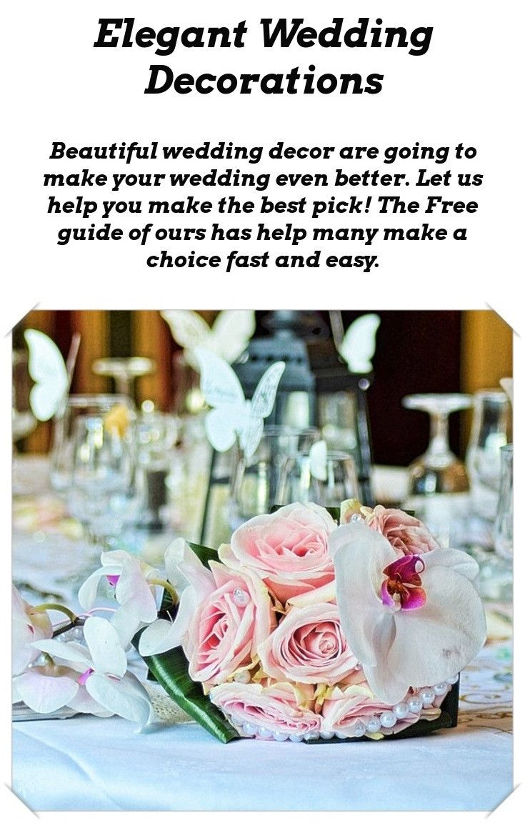 Wedding decoration ideas wedding receptions pinterest wedding