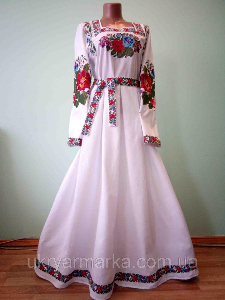 Вишиті плаття  8bb2091f0a996