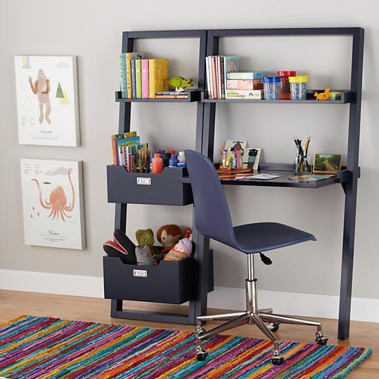 Little Sloane Leaning Desk (Midnight Blue) - Little Sloane Leaning Desk (Midnight Blue) Leaning Desk