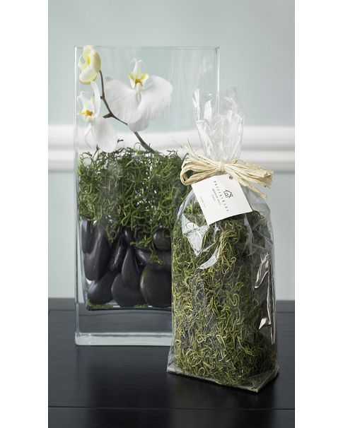 Spanish Moss Fine Dining At Home Pinterest Vase Centerpieces