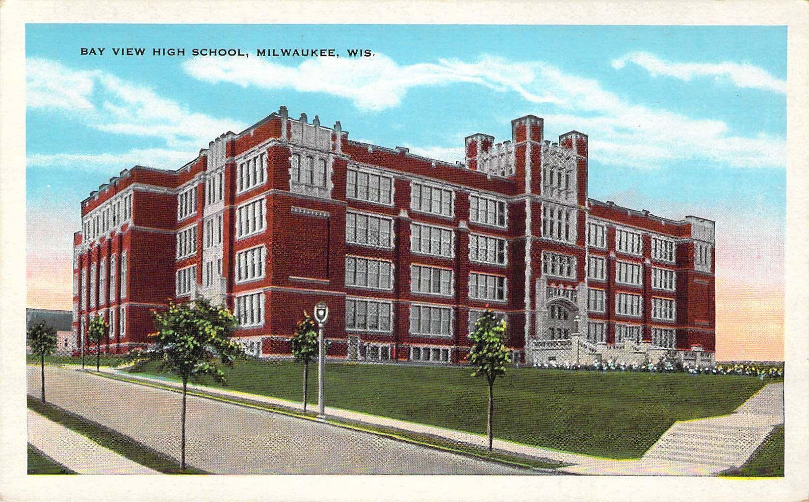 Bayview High School Milwaukee Wi Milwaukee Wisconsin Milwaukee Wi Historical View