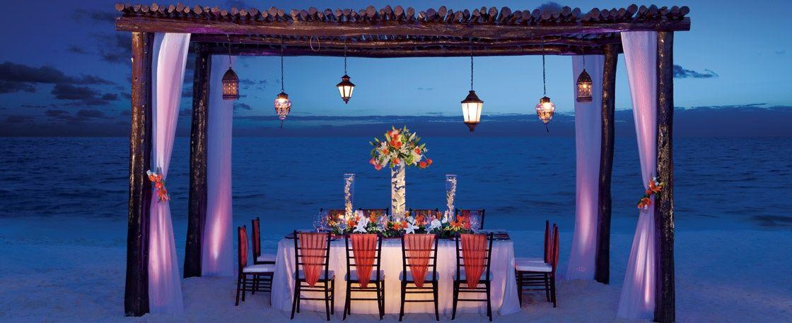 Secrets Resorts & Spas - Weddings - Capri Riviera Cancun  For a custom free quote contact www.sea2shoretravelagency.com
