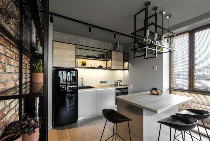 Dise o de interiores para cocina a medida de estilo for Tiradores estilo industrial