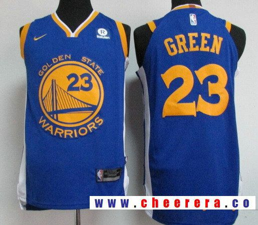 Men s Golden State Warriors  23 Draymond Green Blue 2017-2018 Nike Swingman  Rakuten Stitched NBA Jersey 2c2d83f4b