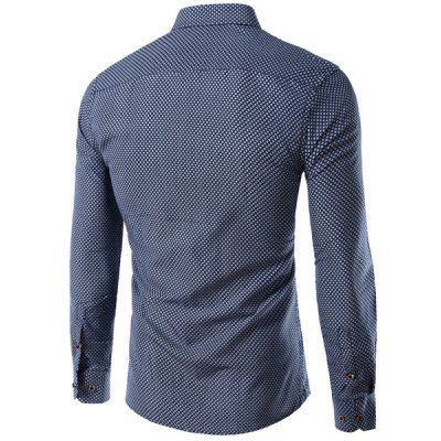 Long Sleeves Checked Single Breasted Shirt For Men #women, #men, #hats, #watches, #belts, #fashion, #style