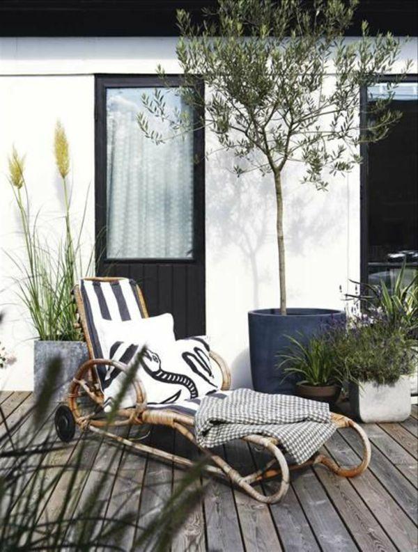 rustik-Lounge-Möbel-für-Draußen-Terrasse Garten Pinterest