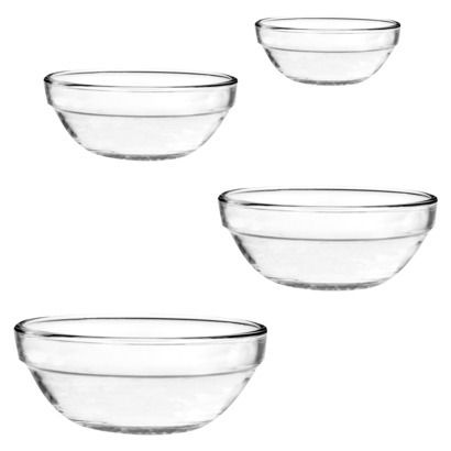 4 Piece Nested Mixing Bowls Anchor Hocking for $13.99 at Target.  Item #  070-05-0480