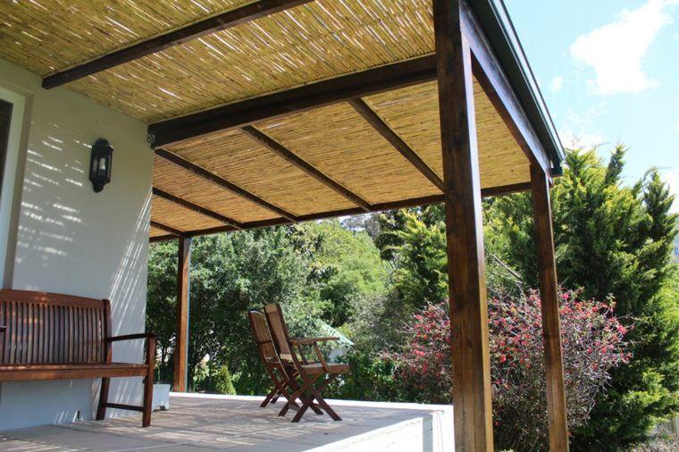 Canisse Pergola Pour Terrasse En Bambou Rustic Pergola Pergola Ideas For Patio Pergola Plans Design