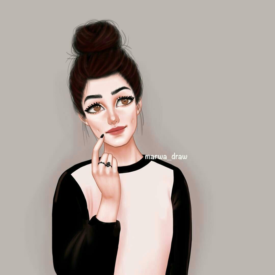 Pin By Jam Nitchakarn On Girly M Beautiful Girl Drawing Cute Girl Drawing Girly M