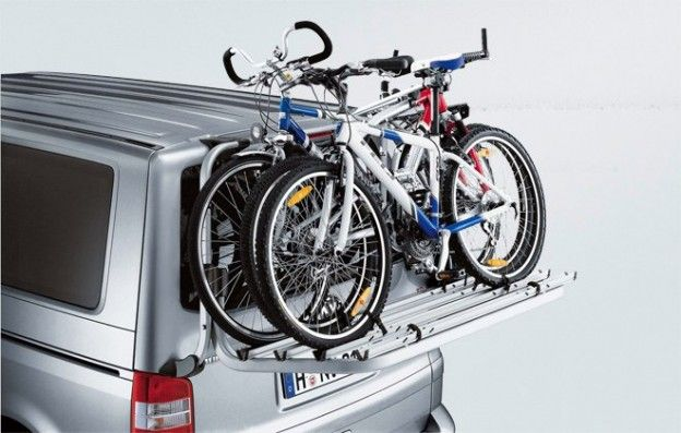 Original Vw T5 Volkswagen Fahrradtrager Fur Die Heckklappe Bus