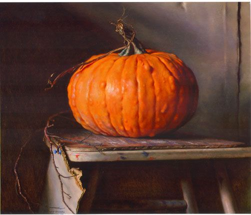 98eaa0a9c64b904faee6d46dc328c242 hyperrealistic art pumpkin art jpg