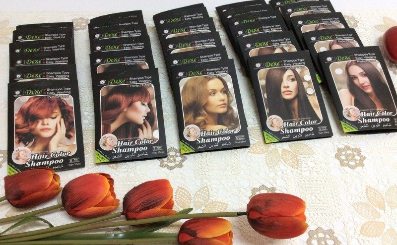 شامبو تلوين الشعر Dexe سعر ومواصفات وطريقة الاستخدام Hair Color Shampoo Color