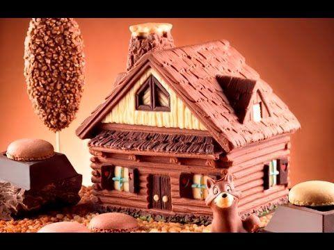 Stampo BAITA DI MONTAGNA - Preparazione torte di compleanno o feste dei bambini