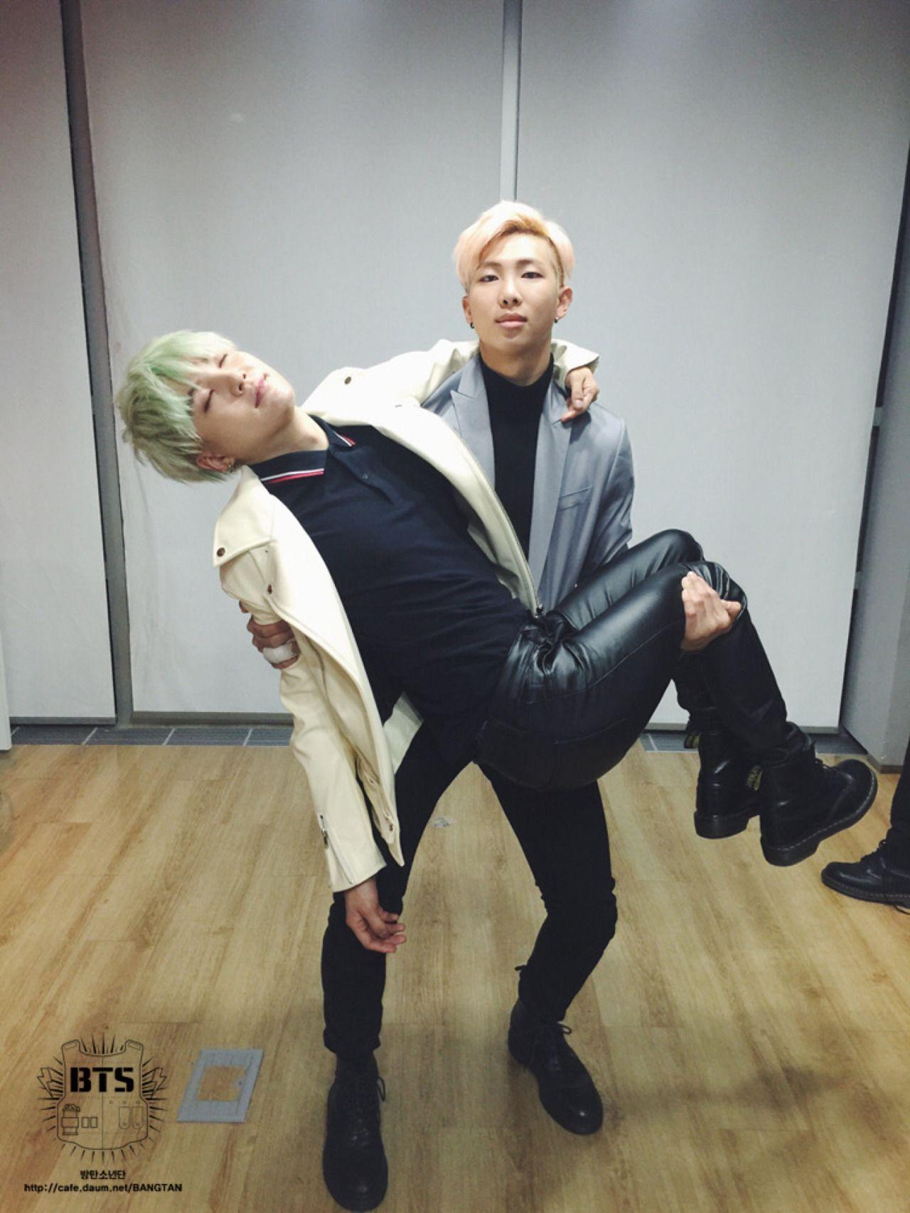 방탄소년단 |BTS| SUGA & NAMJOON #BTS #Suga #Namjoon
