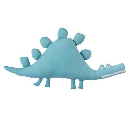 Kids Throw Pillows: Boys Dinosaur Throw Pillow | The Land of Nod