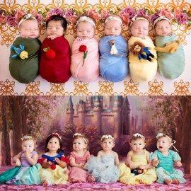 These Disney Princesses Celebrate Their One-Year-O