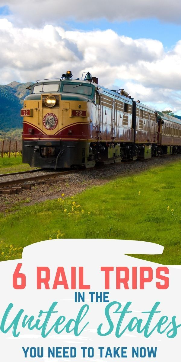 Recently, there has been a resurgence in bringing back some of the vintage trains to provide one of a kind experiences across the United States. If you want to step back in time, consider a train trip on one of these popular routes. #rail #traintrip #train #traintravel #napavalley #grandcanyon #travel #vacation
