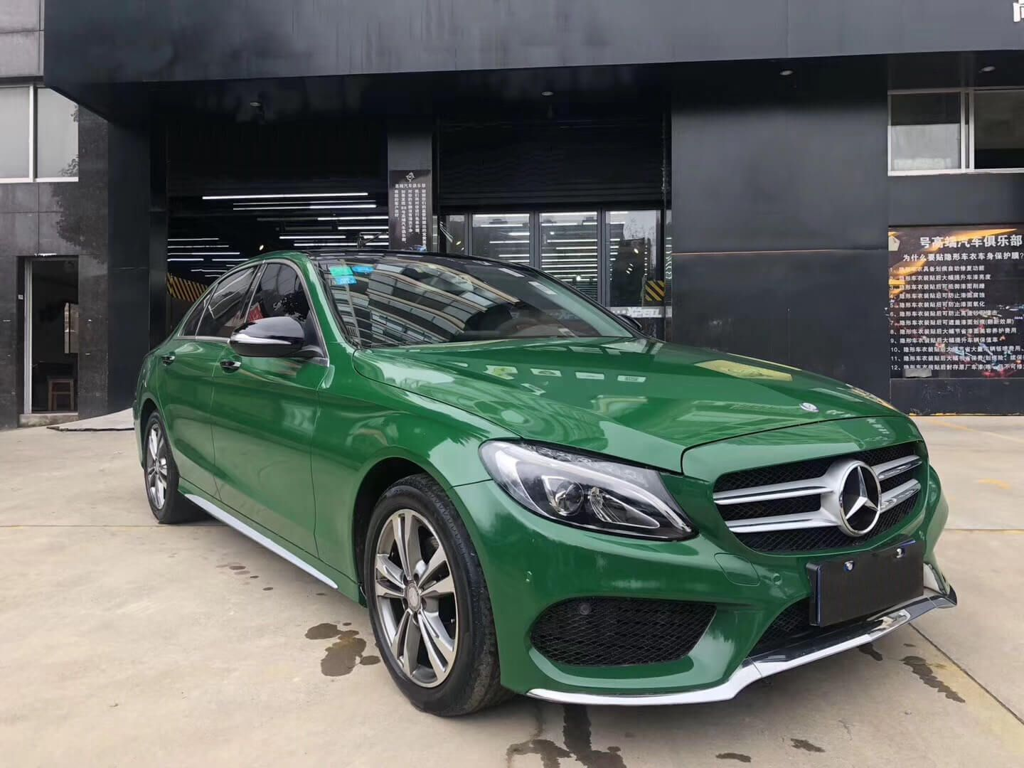 Olive Green Gloss Crystal Wrap in 2020