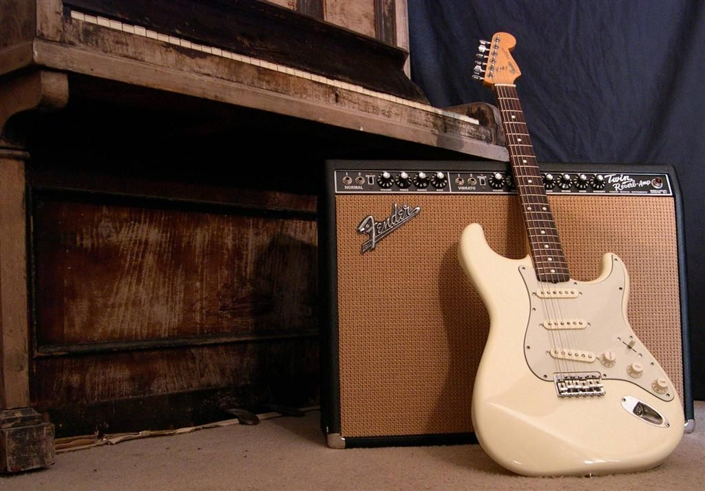Stratocaster wallpaper twin reverb fender gear porn - Fender wallpaper ...