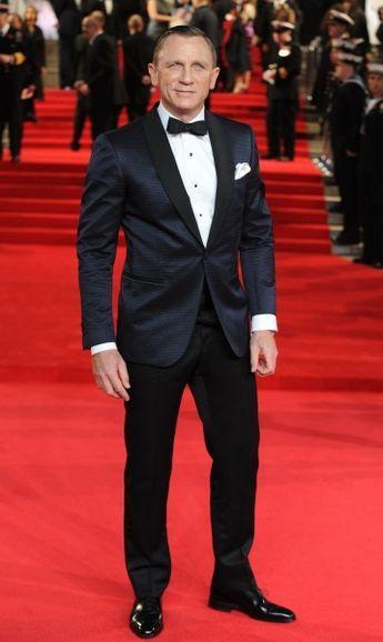 Tom Ford Tux. Bond. James Bond. Daniel Craig....a winning combo I'd say
