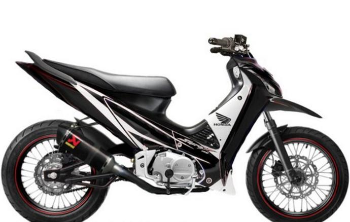 Modifikasi Honda Supra X Road Race Sepeda Motor Desain Sepeda Motor Motor