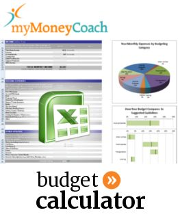 Excel Budgeting Calculator Spreadsheet And Worksheet For Canadian
