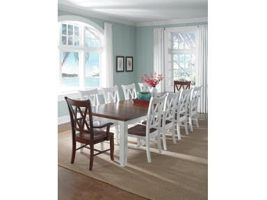 John Thomas Solid Top Table T 42120xxt C 20b With Images Wood Dining Room Chairs Dining Room Design Dining Chairs